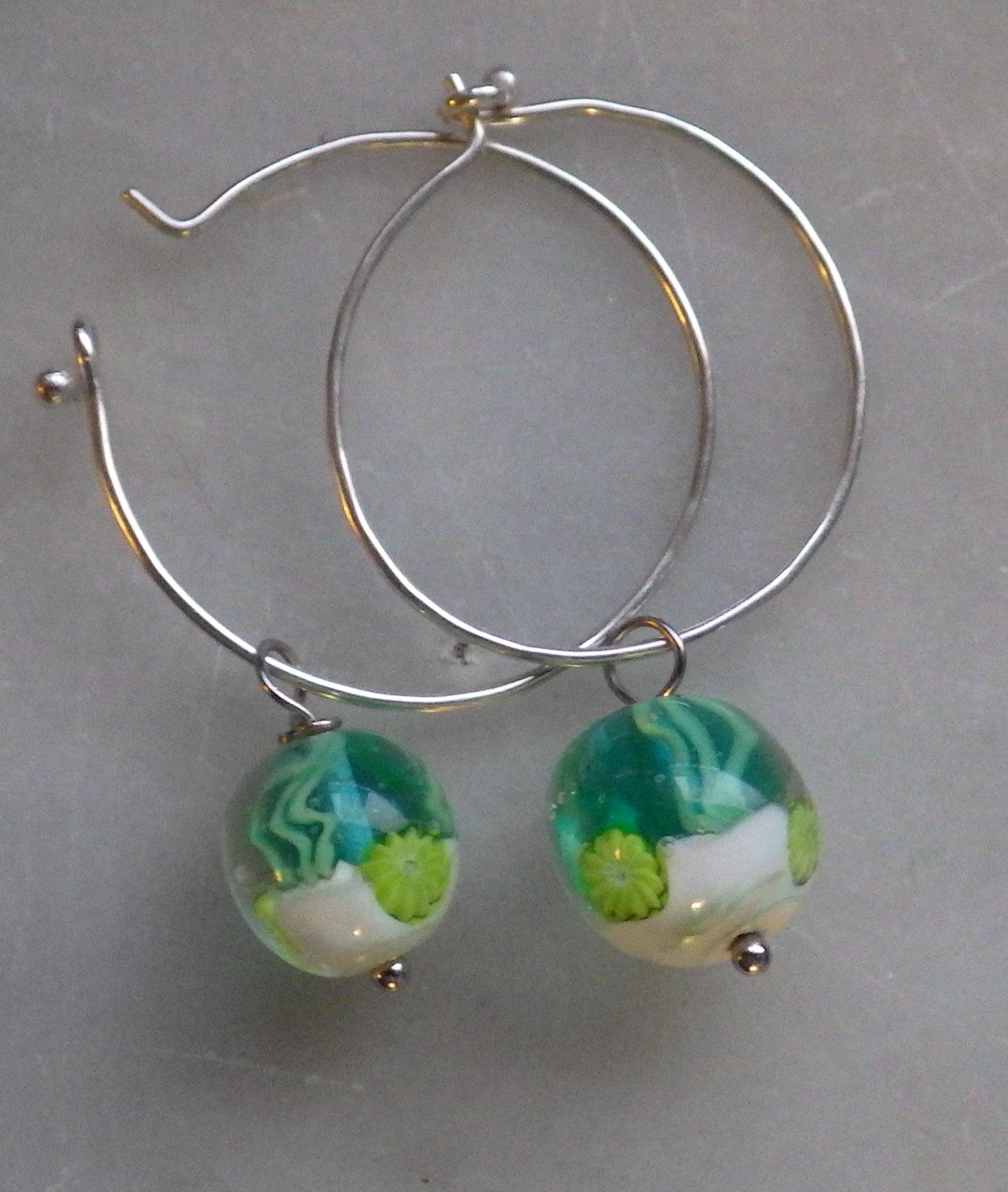 Aquarium earings