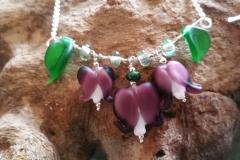 Lamprocapnos necklace